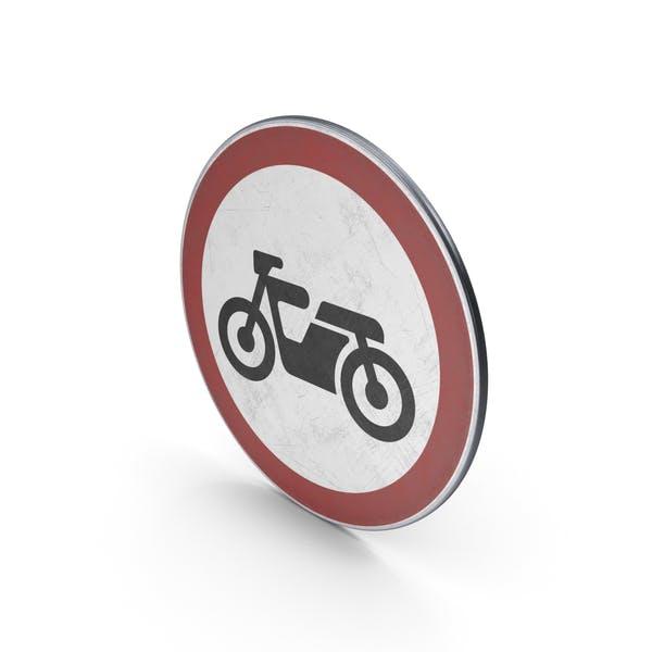 Traffic Sign No Motor Cycles