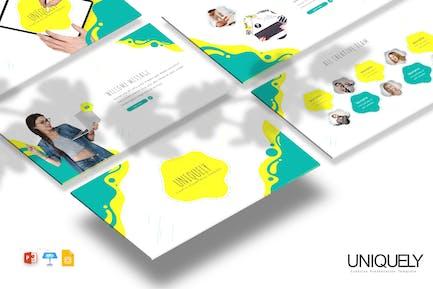 Uniquely - Powerpoint / Google Slides / Keynote