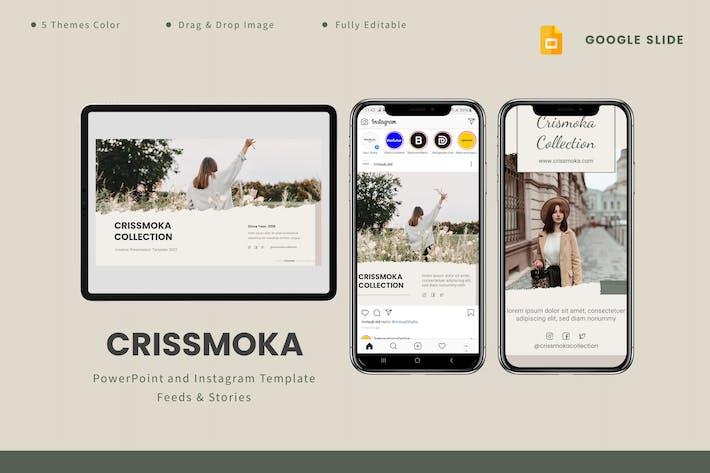 Crismoka - Google Slides & Instagram Template