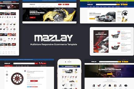 Mazlay - Car Accessories OpenCart Theme