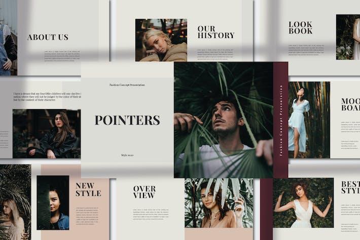 Pointer - Fashion Presentation