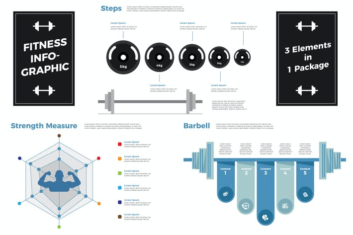 Thumbnail for Fitness - Infographic