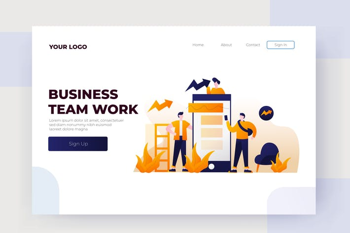 Thumbnail for Geschäftsteams arbeiten