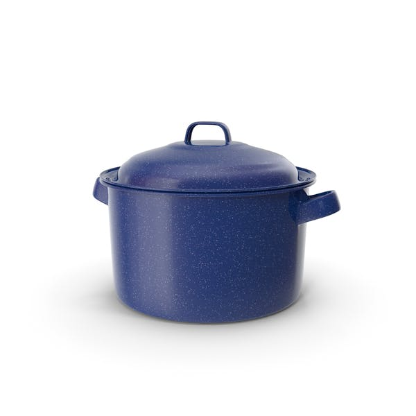 Enameled Dutch Oven with Lid