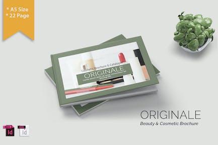 ORIGINALE - A5 Cosmetic Catalog Template Landscape