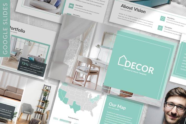 Thumbnail for Decor - Business Google Slide Template