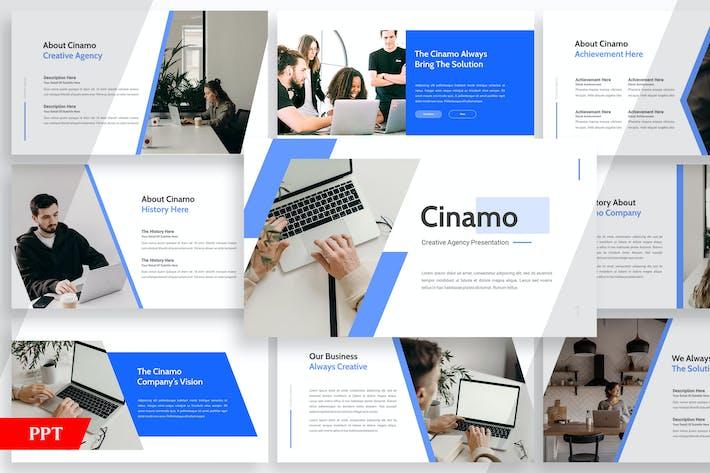 Thumbnail for Cinamo Company Profile - Powerpoint