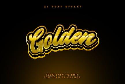 Golden Ai Text Effect