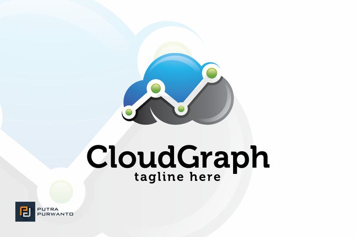 Thumbnail for Cloud Graph - Logo Template