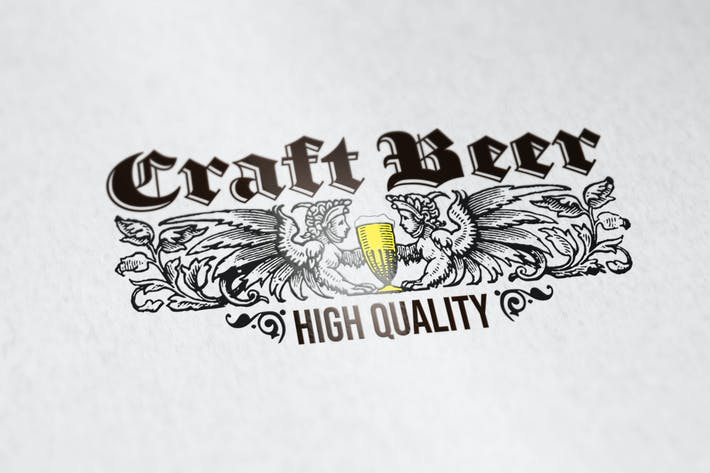 Thumbnail for Craft Beer Logovorlage