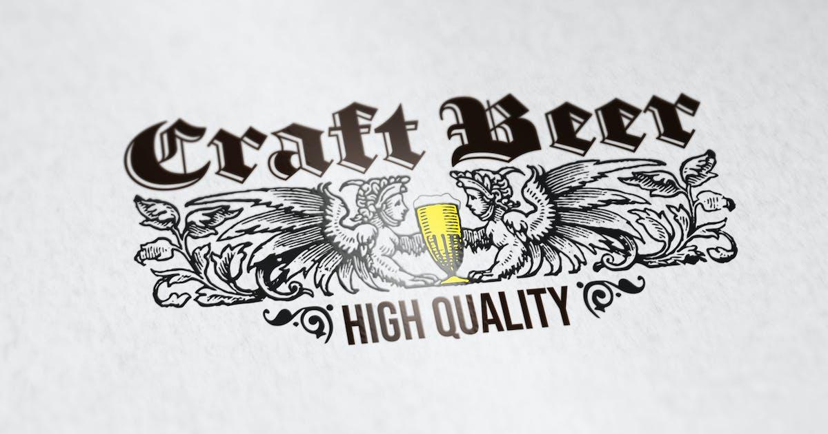 Download Craft Beer Logo Template by SmartDesigns_eu