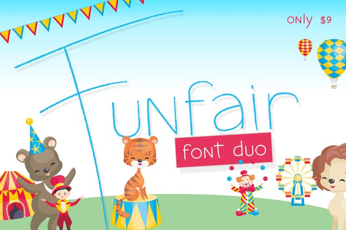 Cover Image For Funfair Font
