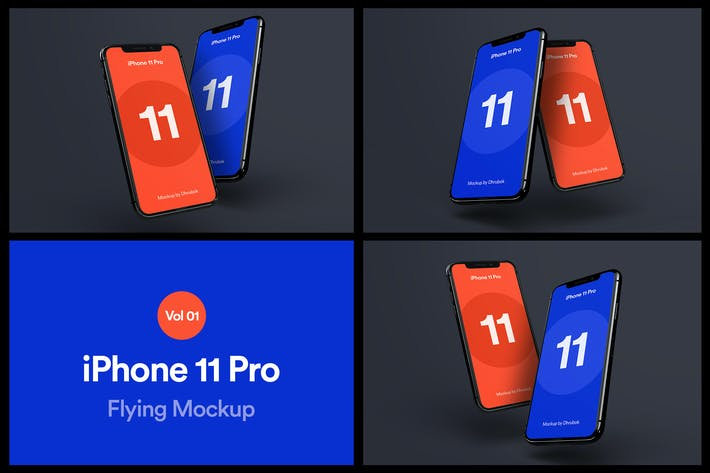 Thumbnail for iPhone 11 Pro Mockup Vol 06