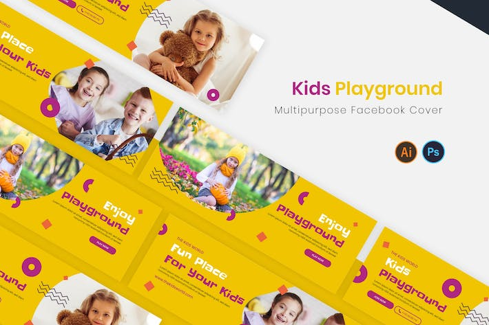 Kids Playground Facebook Cover