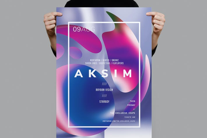 Thumbnail for Aksim Poster / Flyer Template