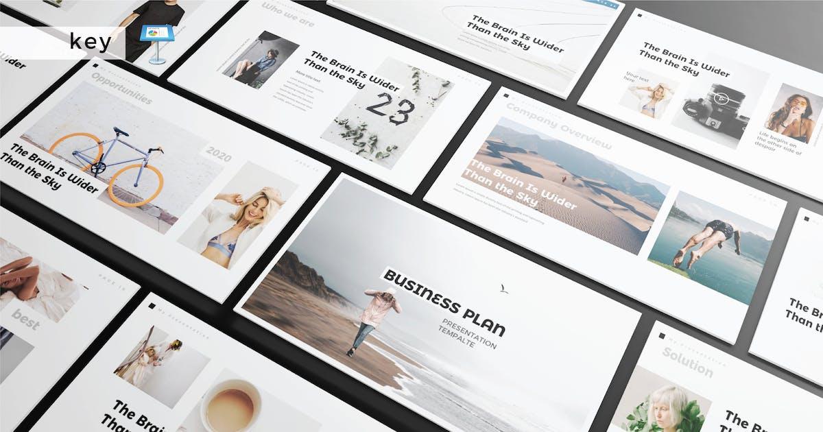 Download BUSINESS PLAN - Multipurpose Keynote V227 by Shafura