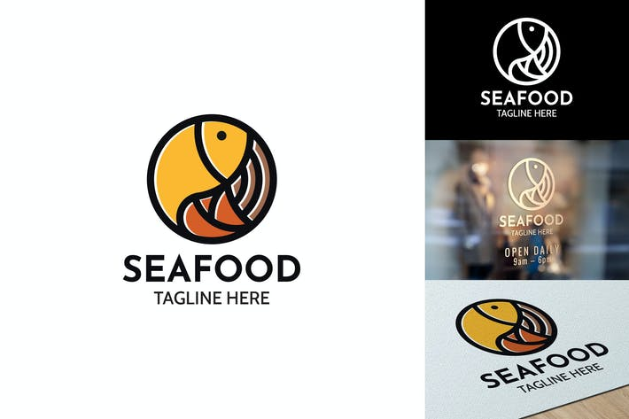 Thumbnail for Seafood - Logo Template RB
