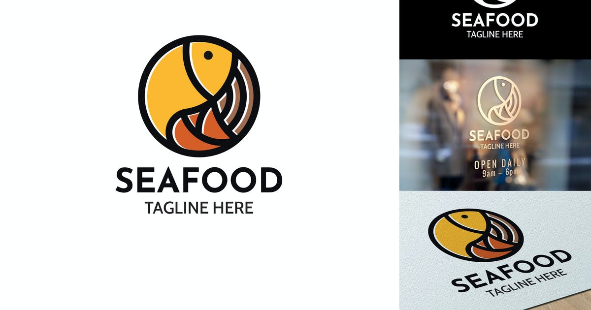 Download Seafood - Logo Template RB by Rometheme