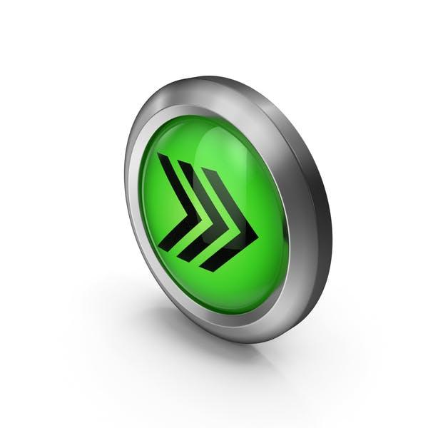 Icon Green Arrows