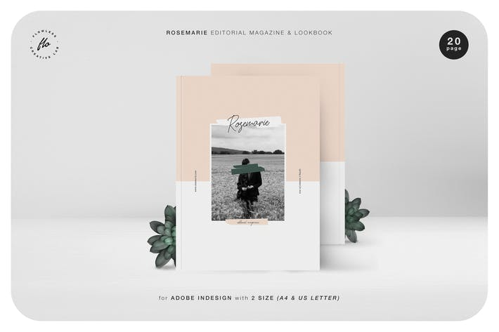 Thumbnail for Rosemarie Editorial Magazine & Lookbook