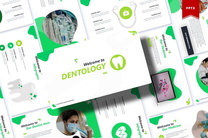 Thumbnail for Dentology | Powerpoint Template