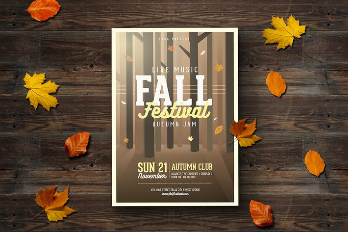 Thumbnail for Fall Festival Flyer