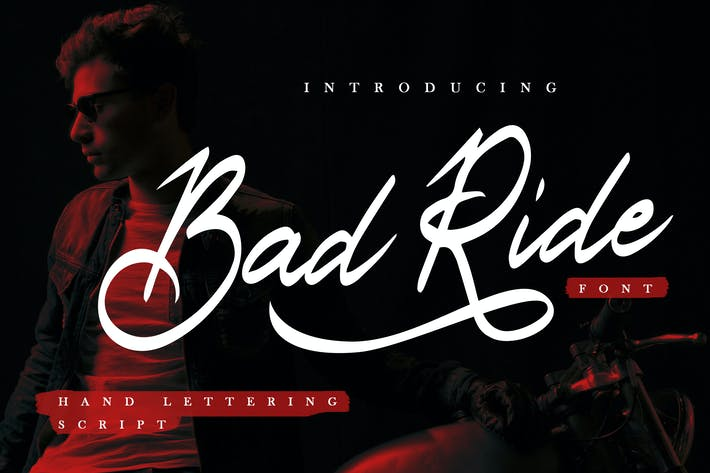 Bad Ride - Handlettering Script