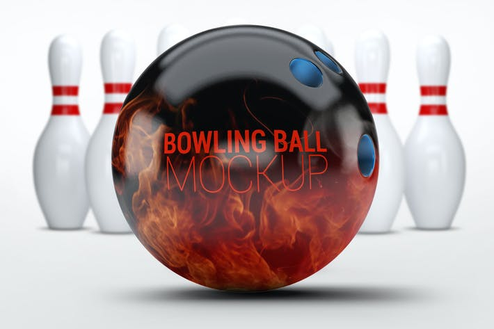 Thumbnail for Bowling Ball Mock-Up