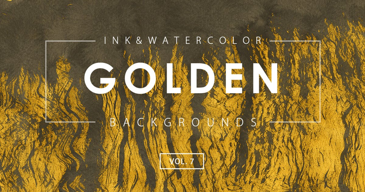Download Golden Ink Backgrounds 7 by M-e-f