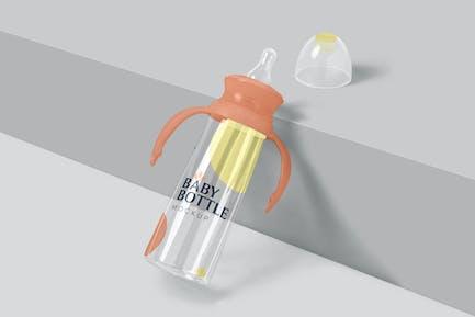 Feeding Bottle with Handle Mockups