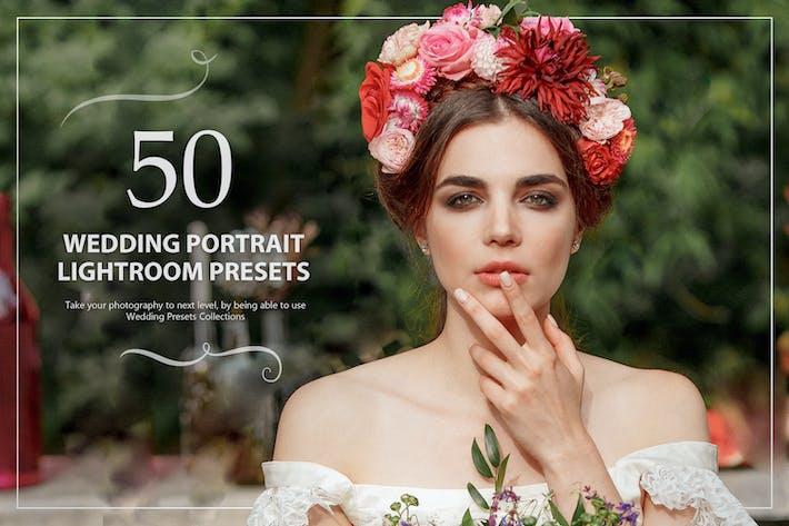 50 свадебных портретов Пресеты Lightroom