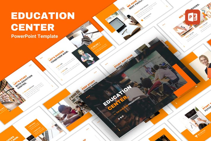 Cover Image For Education Center - Multipurpose PowerPoint