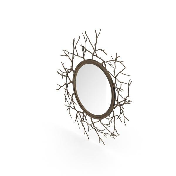 Зеркало круглого вига