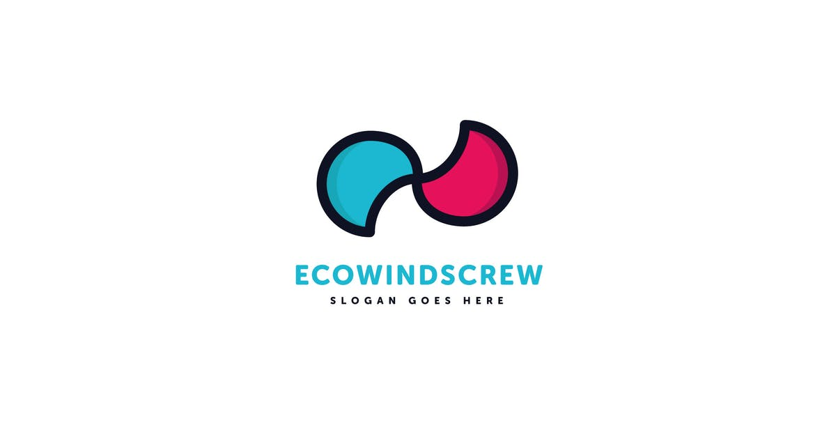 Download Eco Wind Logo Vector Template by Pixasquare