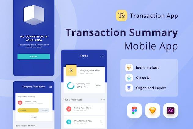 Transaction Summary App