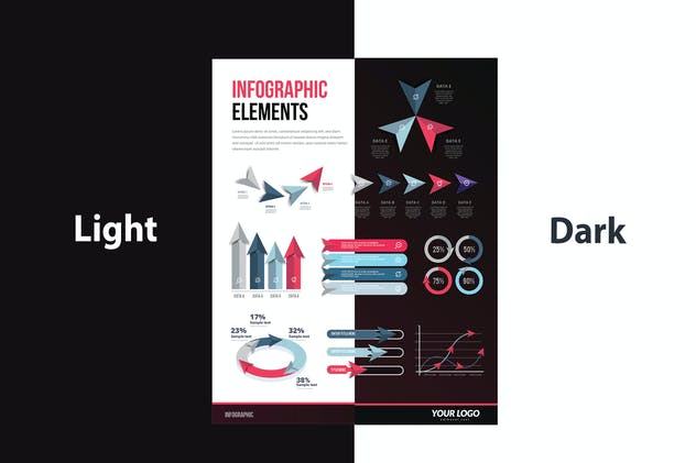 Infographic Examples for Designer V.60 - product preview 3