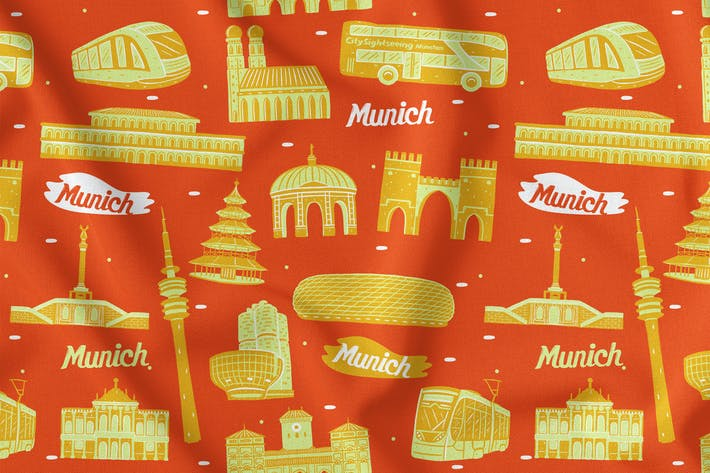 Thumbnail for Munich Seamless Pattern