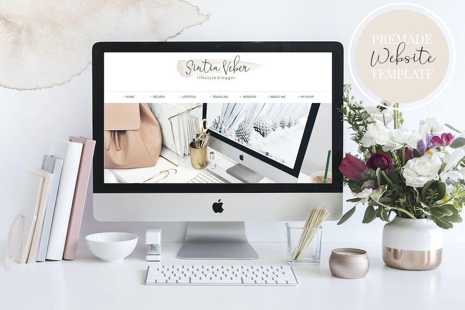 Download Webdesign Template Blog V.3 Beige by switzergirl