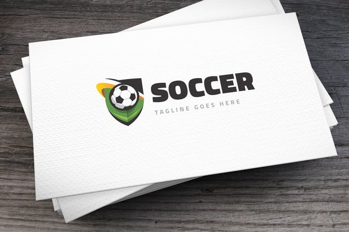 Thumbnail for Soccer Team Logo Template