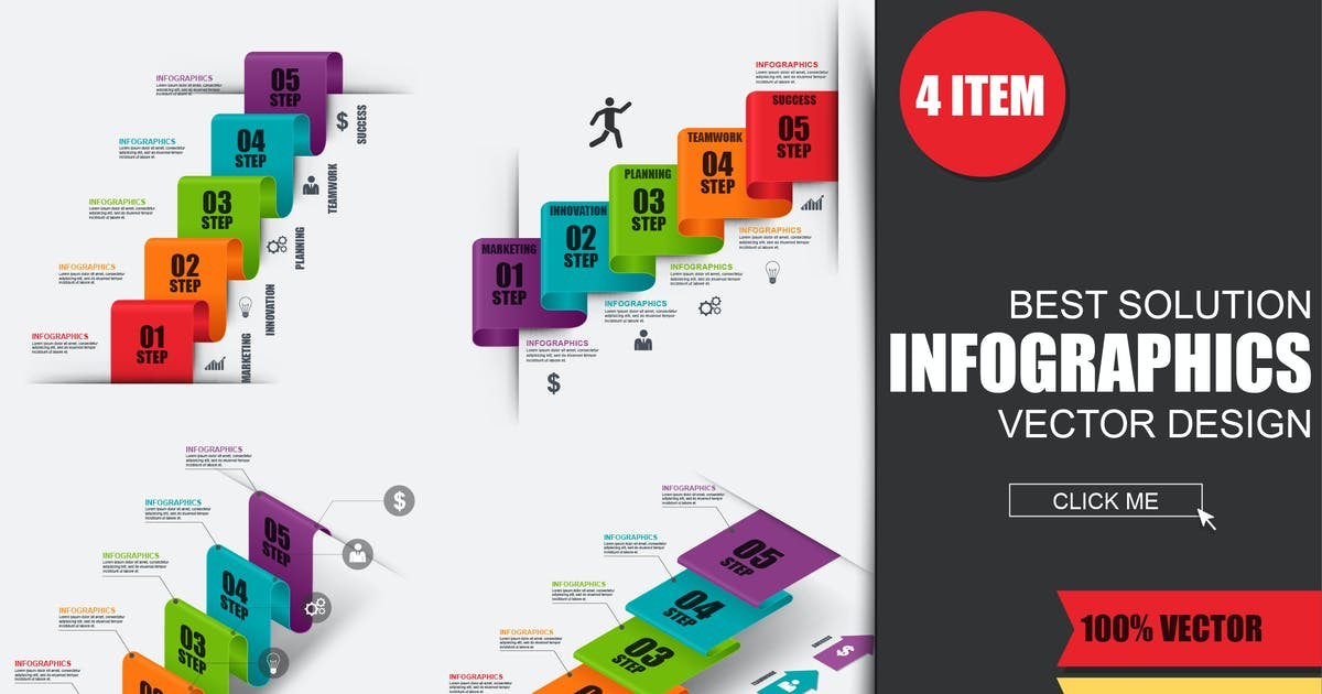 Download Business Stair Success Infographics by alexdndz