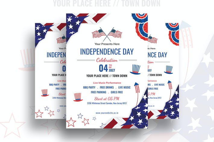 Thumbnail for Independence Day Flyer-01