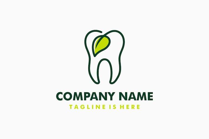 Thumbnail for Dental Leaf Logo Template