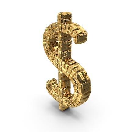 Dollar Ingot Gold