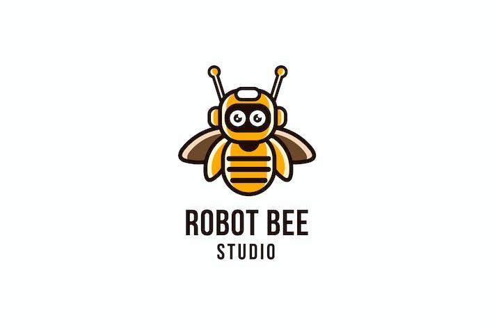 Thumbnail for Robot Bee Studio Logo Template