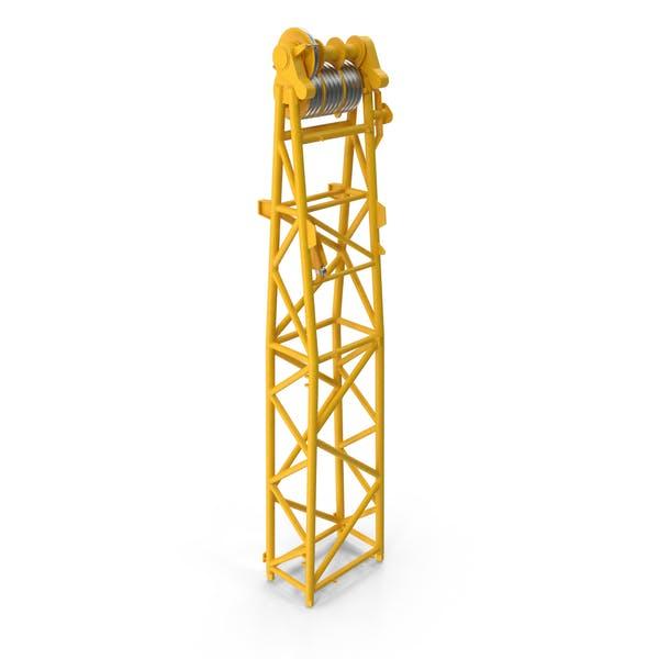 Кран WA Рамка 1 Головка Секция Желтый