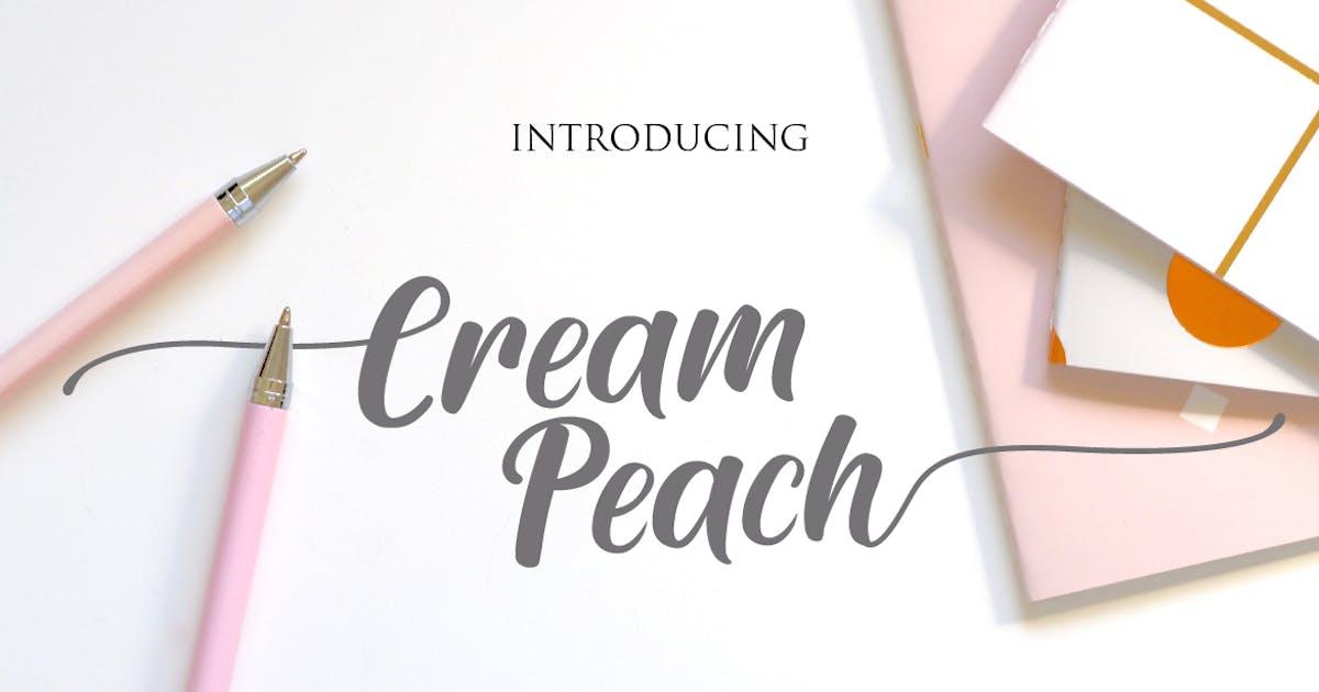 Download Cream Peach by DebutStudio