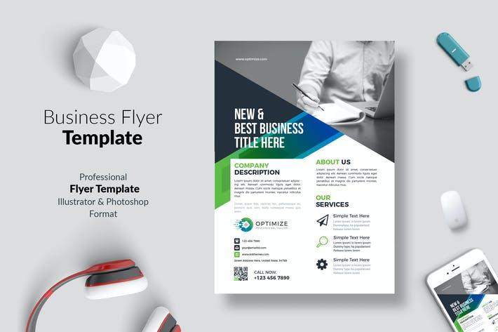 Thumbnail for Business Flyer Template 03