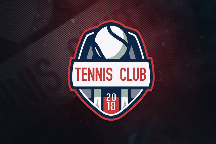 Thumbnail for Tennis Club Sports Logo