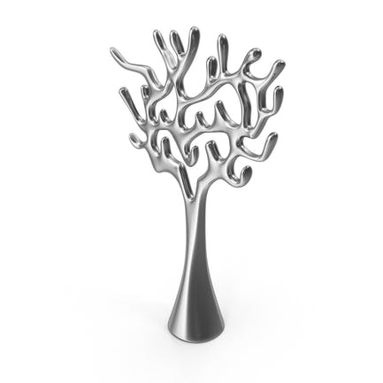 Baum Skulptur Stahl