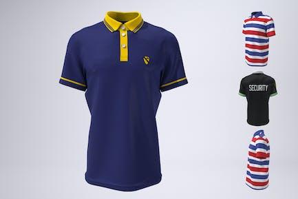 Polo Shirt, Tennis or Golf Shirt Mock-Up